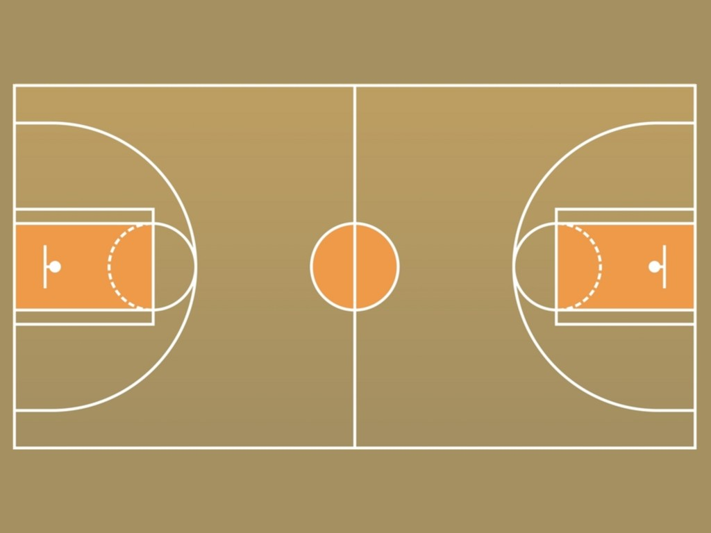 Basketball Court Template For Editing Images