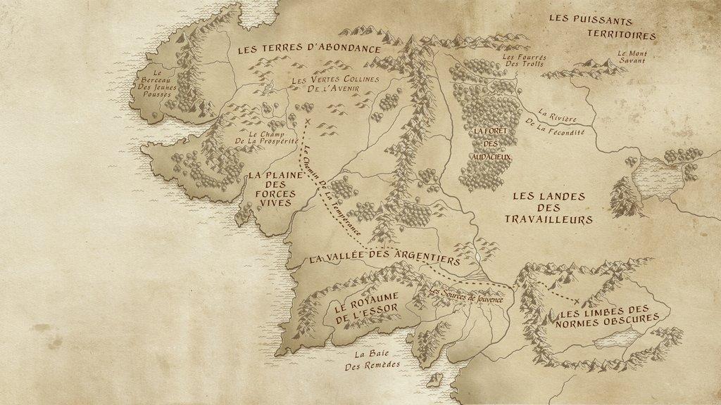 Carte Terre Du Milieu Hd.Le Gouvernement Detourne Le Seigneur Des Anneaux Pour Faire