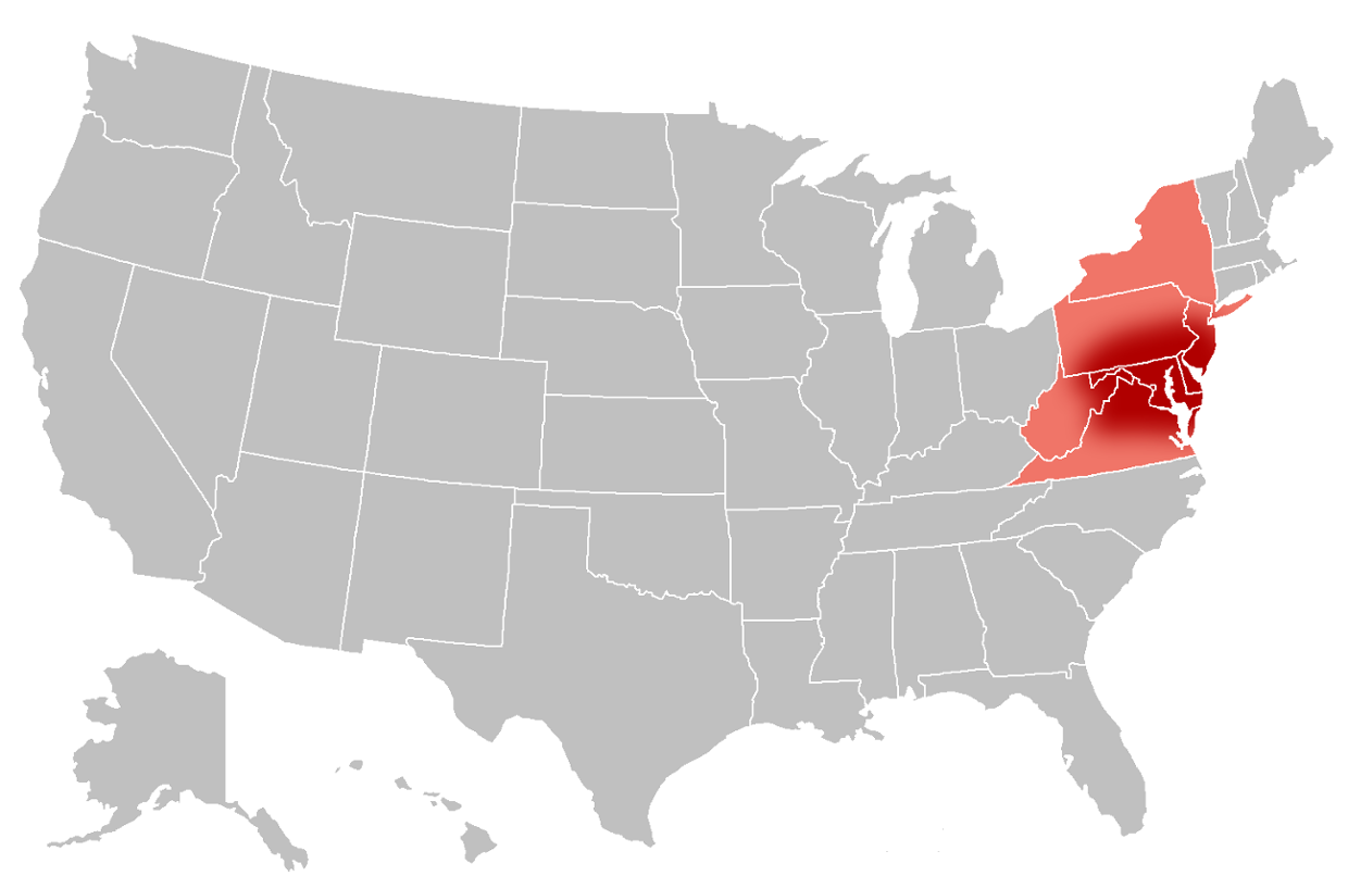 Map Of Ky Usa FORZA Midwestern United States Wikipedia Ohio USA - Us map east of the mississippi