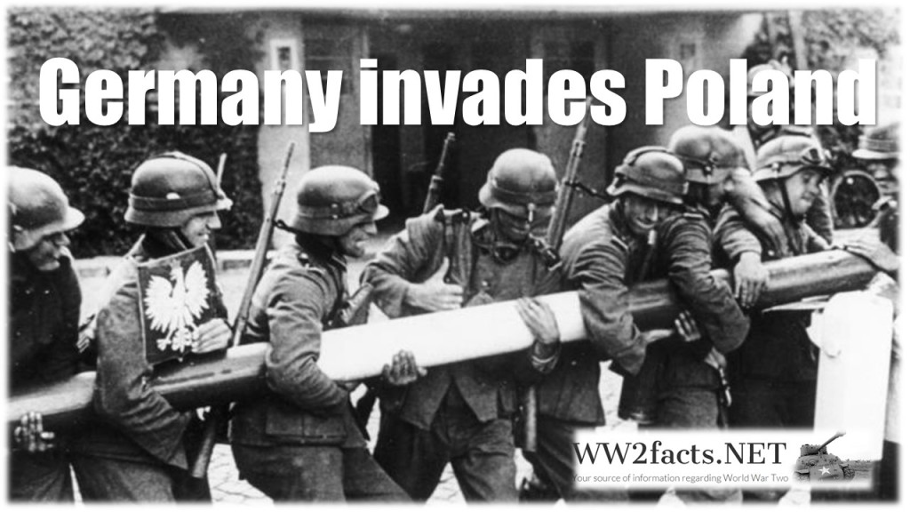 When germany invaded poland it was the main reason why WW...