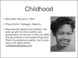 Did Rosa Parks have kids?