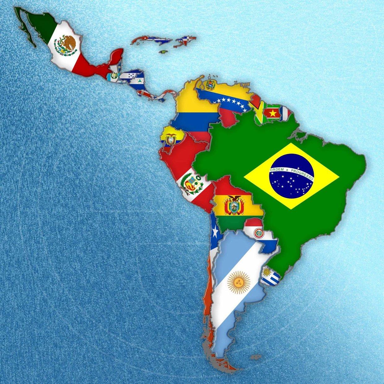 america latina mapa Remix of