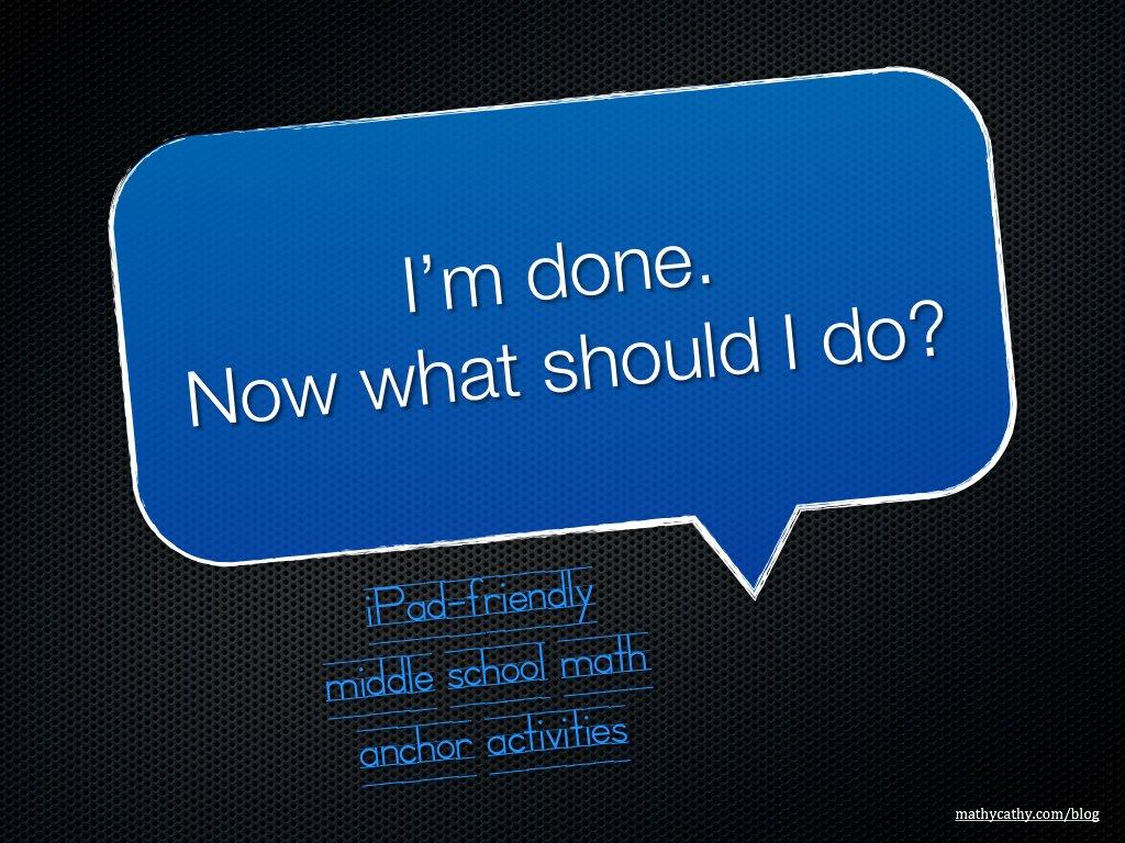 iPad-Friendly Math Activities