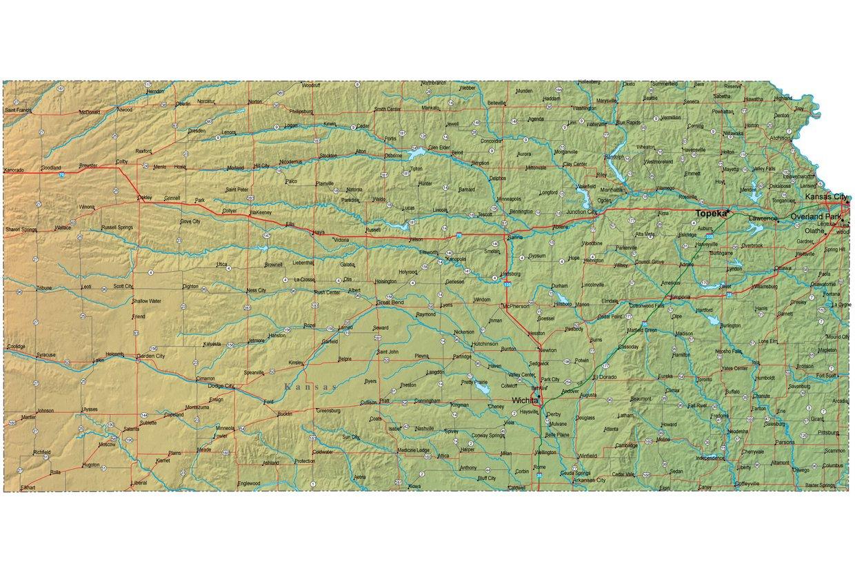 Alton Kansas Map.Kansas Map