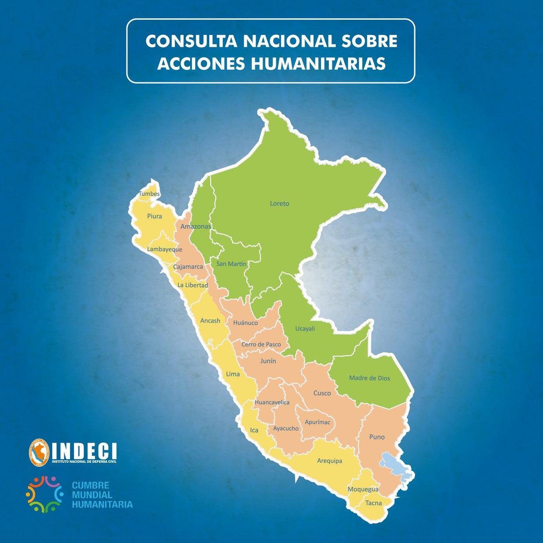 Consulta Nacional Sobre Acciones Humanitarias