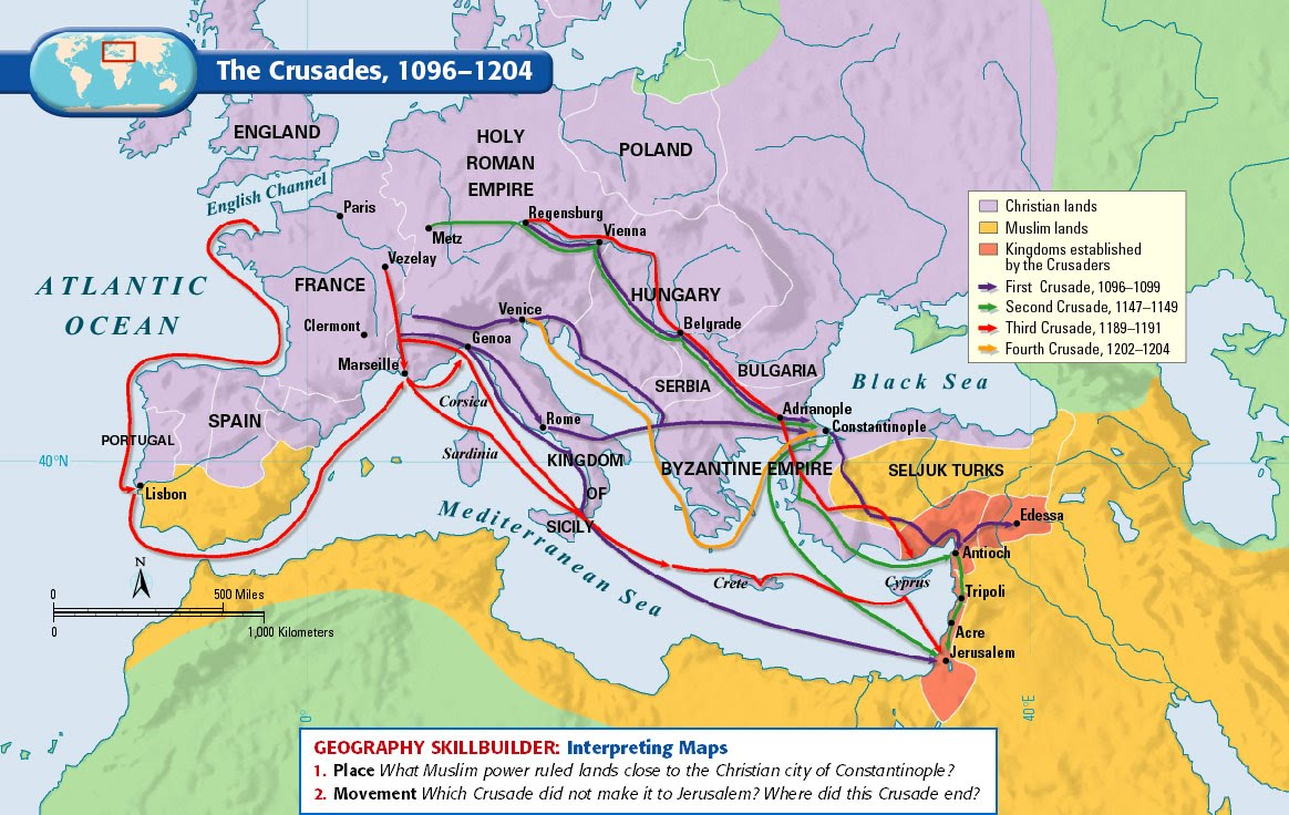 the crusades purpose to recover the christian holy land from muslisms The christian crusades essay 1459 words 6 pages the crusades: series of wars by western european christians to recapture the holy land from the muslims (encarta crusades) the purpose of christian crusades.