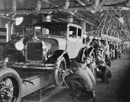 Economic boom thinglink Lincoln motor company canada