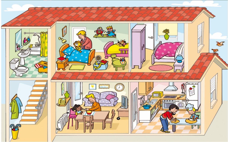 La casa animada thinglink for Dependencias de la escuela