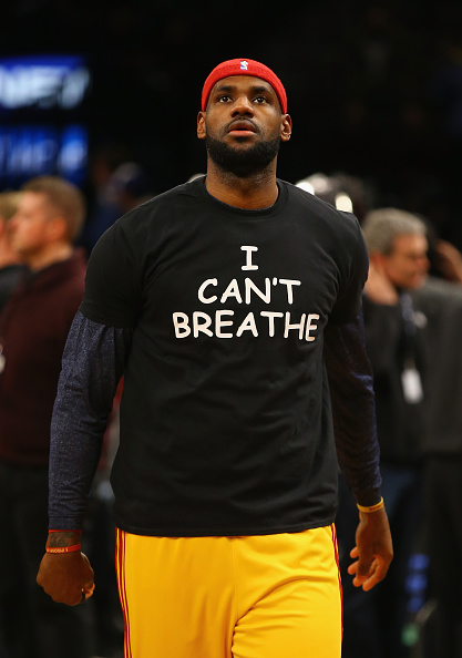 LeBron James   I Can t Breathe  Shirt Becomes Black History Moment ... 957ed3548