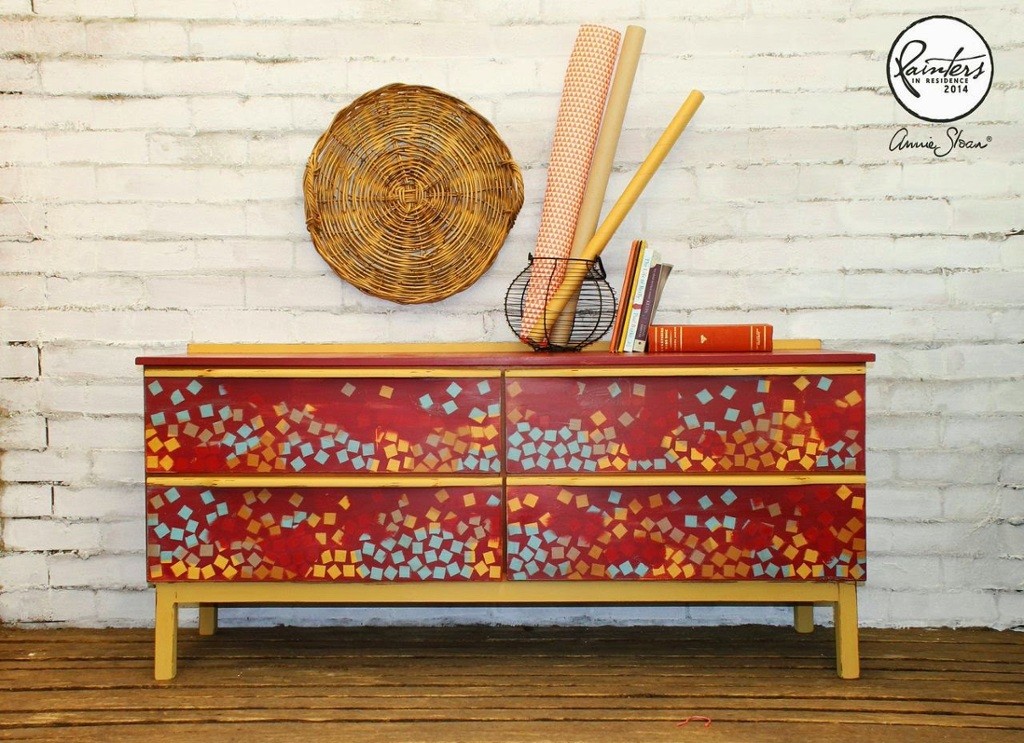 Beau Ford Geometric Sideboard