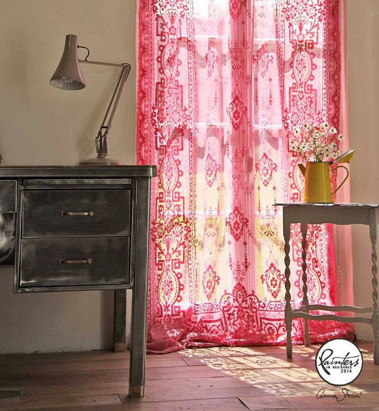 Janice Issitt Vintage Curtains