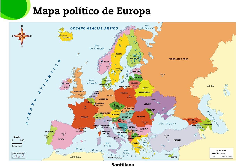 Mapa Interactivo De España Politico.Mapa Interactivo De Europa