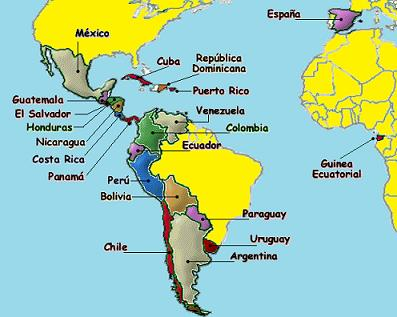South American Capitals And Countries Central AmericaCa - South american capitals