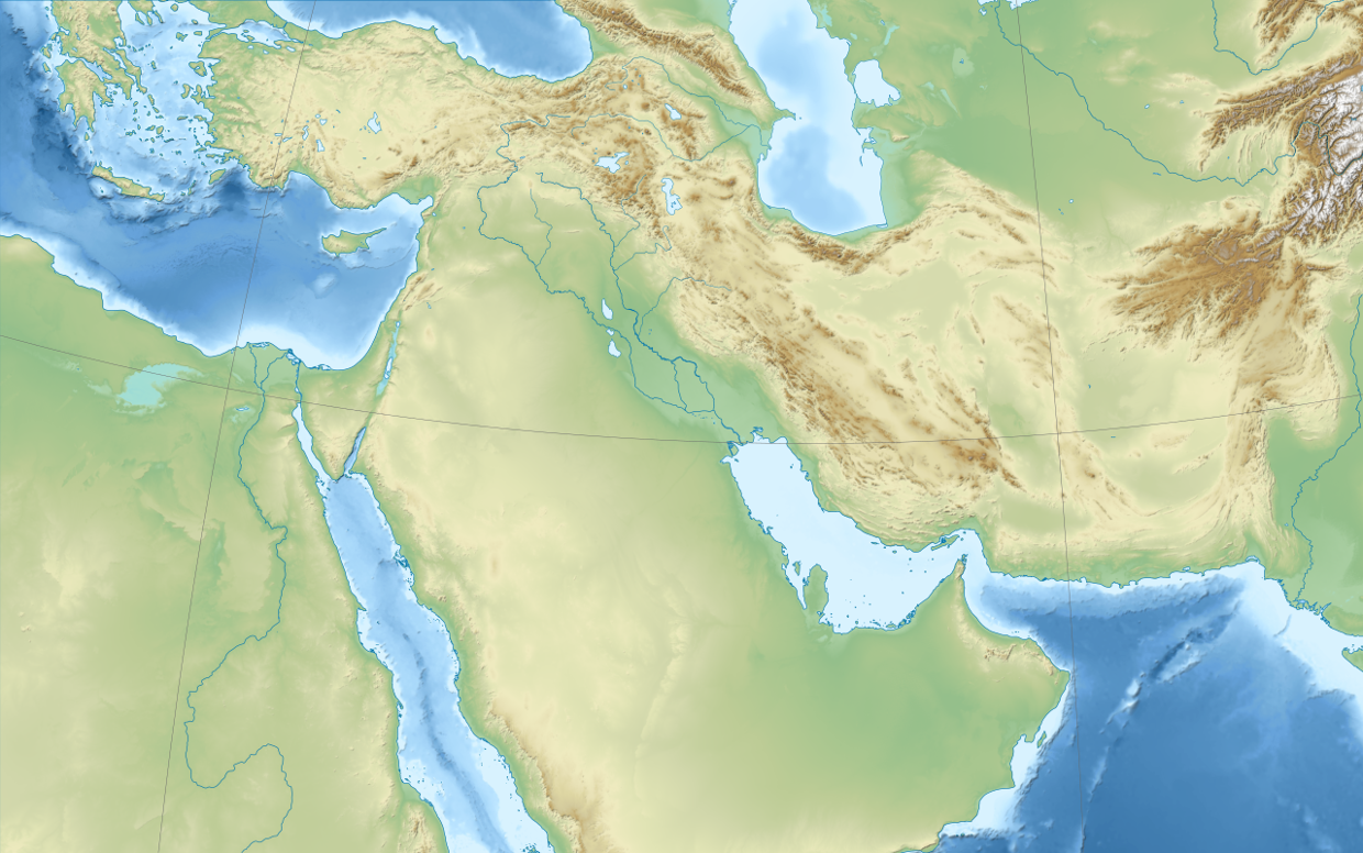 Tyler Luus Middle East Map ThingLink