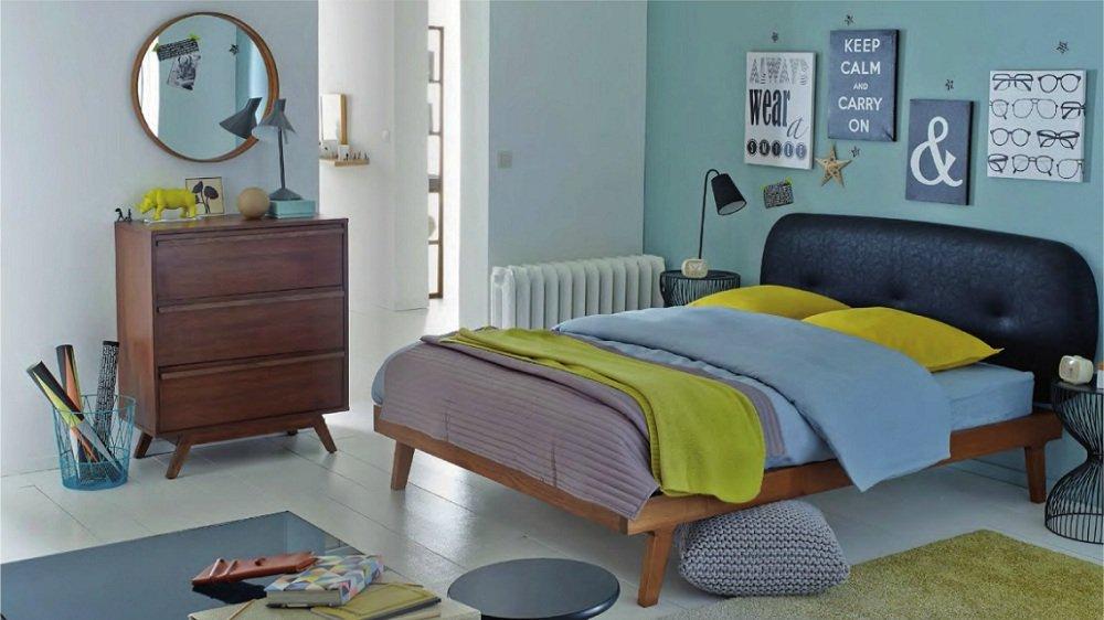 Attrayant Deco Chambre Adulte Vintage