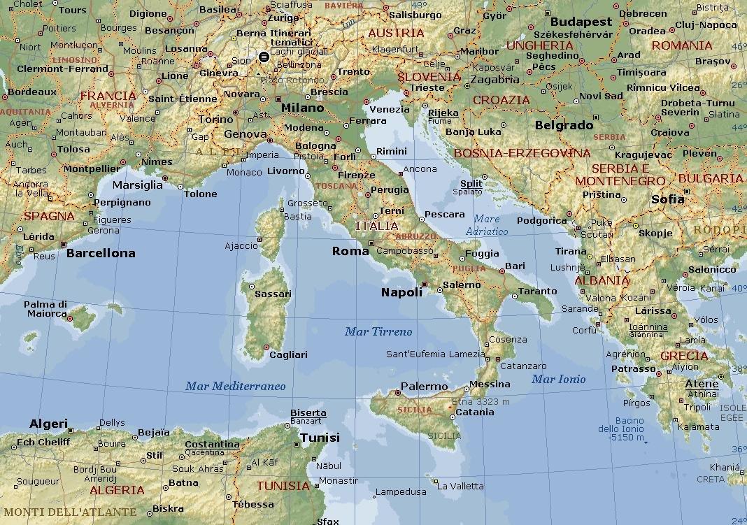 Monumenti d 39 italia thinglink - Mappa di ungheria ed europa ...