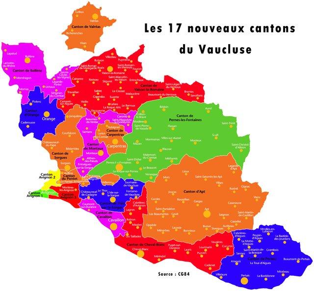 vaucluse elections departementales