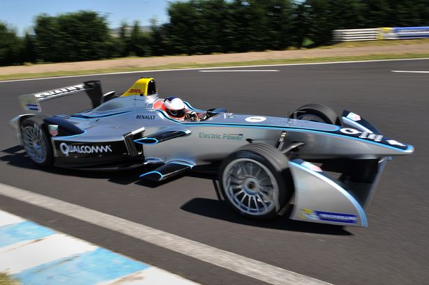 New Electric F1 Cars