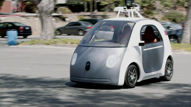 This is the new car Google has decided to make. Its a pro...