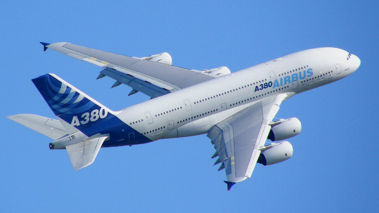 The Airbus a380 is a double-deck, wide-body, four-engine ...