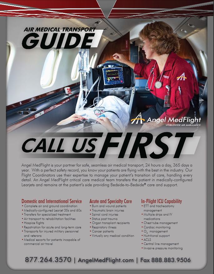Angel MedFlight Case Manager Reference Guide