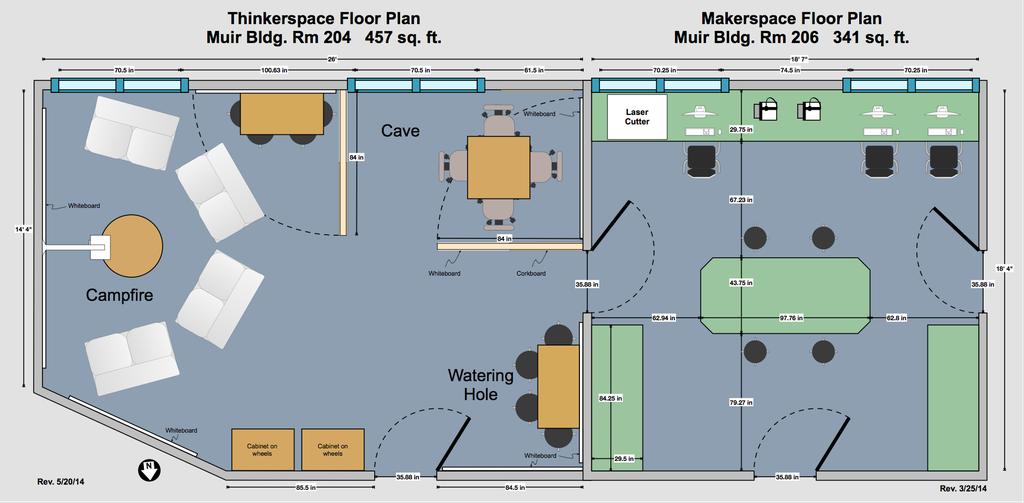 Sample Maker Space Floor Plan