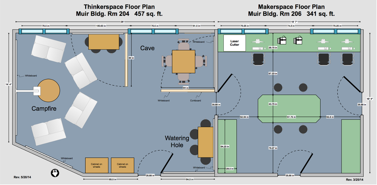 Sample Maker Space Floor Plan