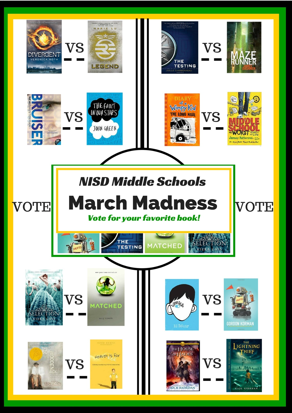 NISD MS March Madness