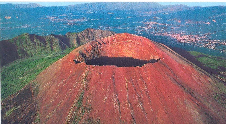 Where is the volcano Vesuvius
