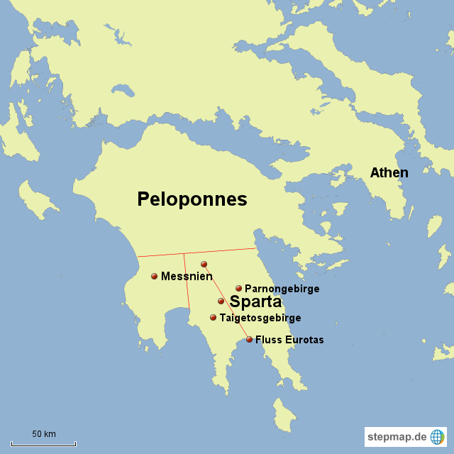 Wo Liegt Sparta Heute
