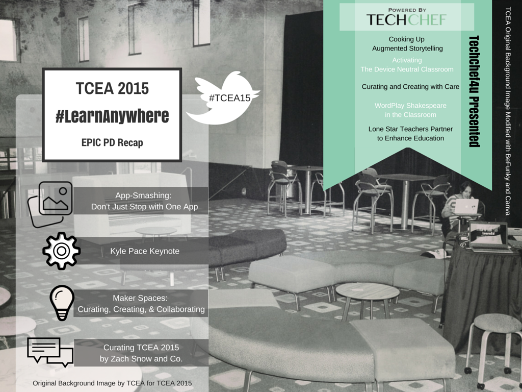 TCEA 2015 TechChef4u Epic PD Recap
