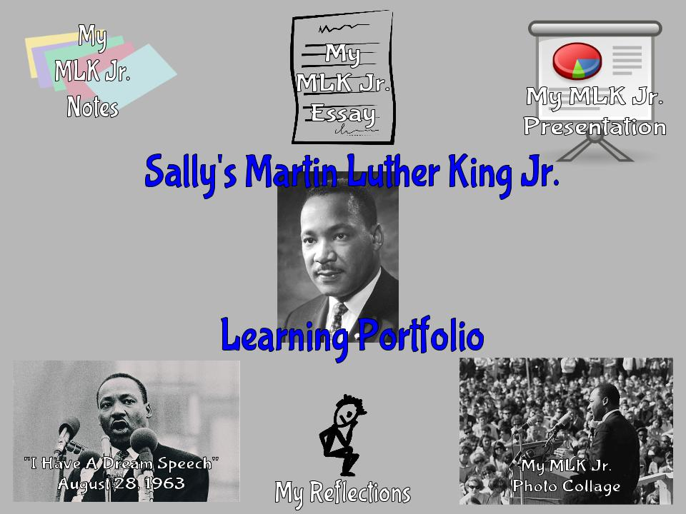 Martin Luther King Research Project Learning Portfolio