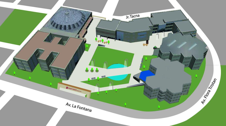 Facultad de ingenier a y arquitectura usmp thinglink for Ingenieria y arquitectura
