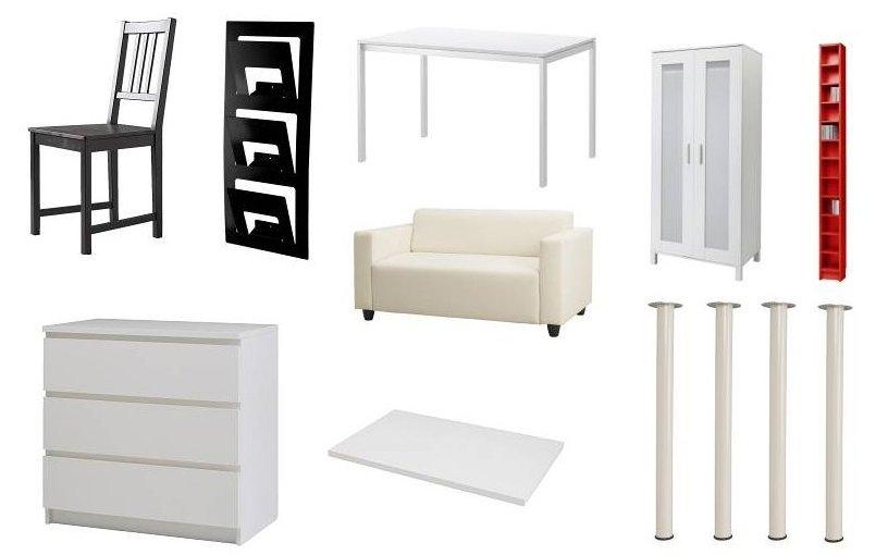 der stuhl der kleiderschrank der tisch das sofa das b. Black Bedroom Furniture Sets. Home Design Ideas