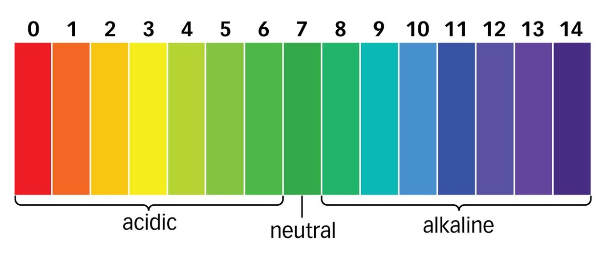 colours on the ph chart: The p h scale and universal indicator lessons tes teach