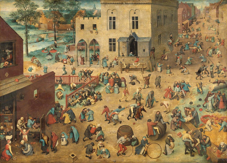 Jeux d'enfants de Pieter Breughel dit l'Ancien