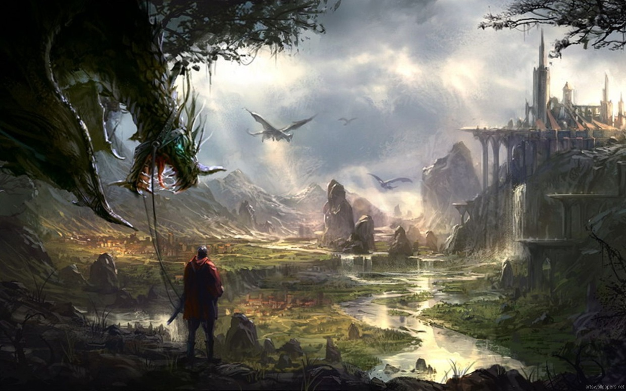 Creative Detailed Hd Fantasy Wallpapers: The End Of Science Fiction By Harshitha