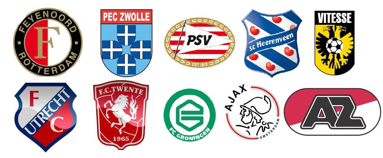 klas1g bertheklaver10 voetbalclubs uit nederland