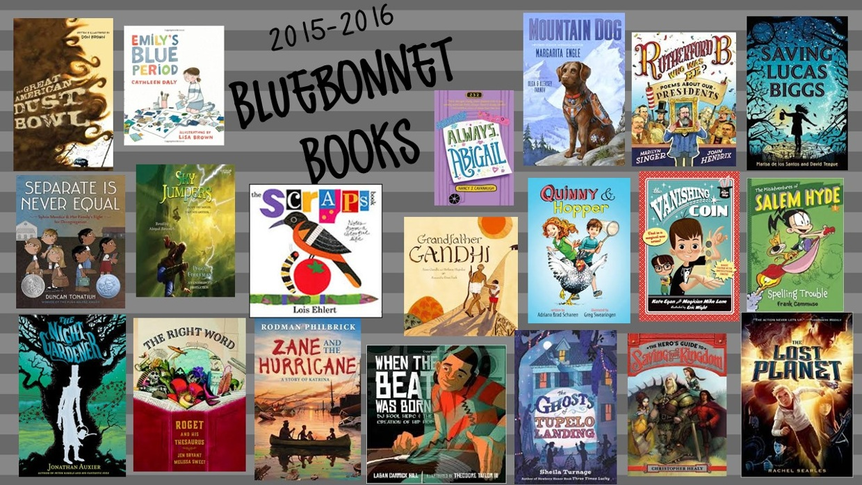 2015-2016 Texas Bluebonnet Award Master List