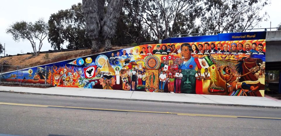 Chicano mural movement thinglink for Chicano mural movement