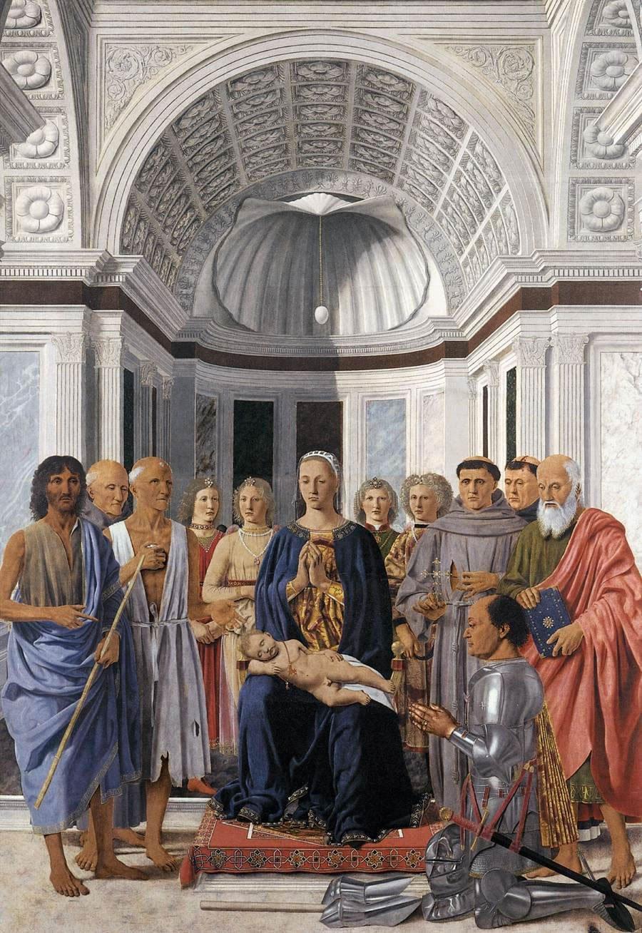Pala di Brera, Piero della Francesca