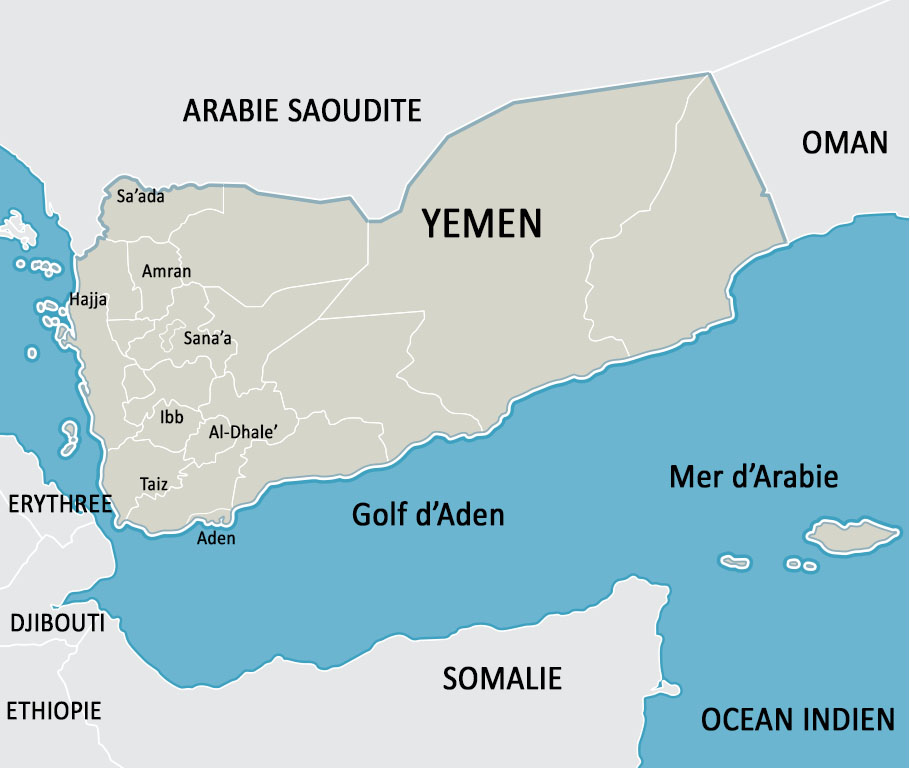 Activités de MSF au Yémen