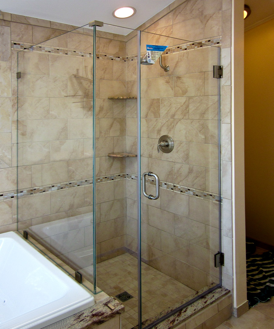 Corner Showers | Dulles Glass