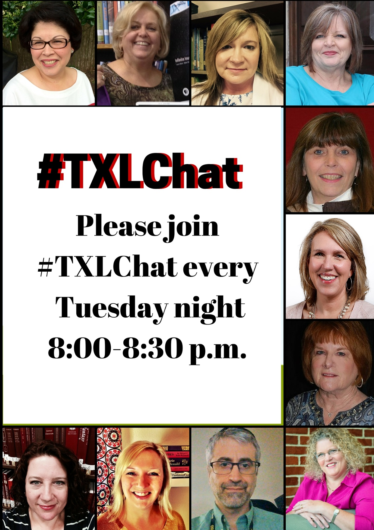 #TXLChat Moderators