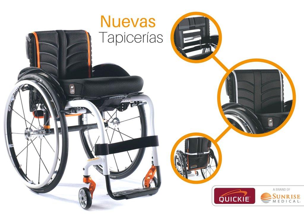 Nuevas tapicer as para sillas de ruedas quickie thinglink - Tapiceria para sillas ...