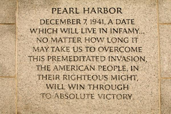 pearl harbor speech essay Infamy speech essays: over 180,000 infamy speech essays, infamy speech term papers, infamy speech research paper, book reports 184 990 essays, term and research papers available for unlimited access log in home  pearl harbor my report is about the attack on pearl harbor in this report i will explain what happened and why it happened.