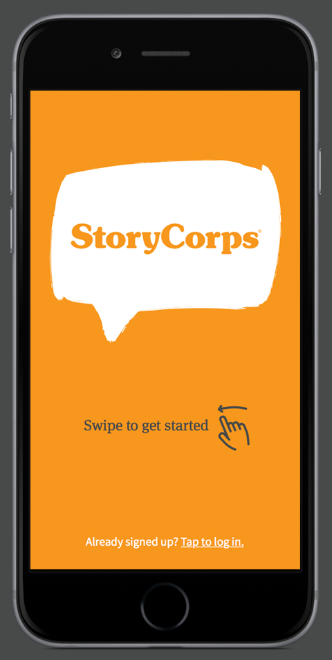 Our StoryCorps Interviews