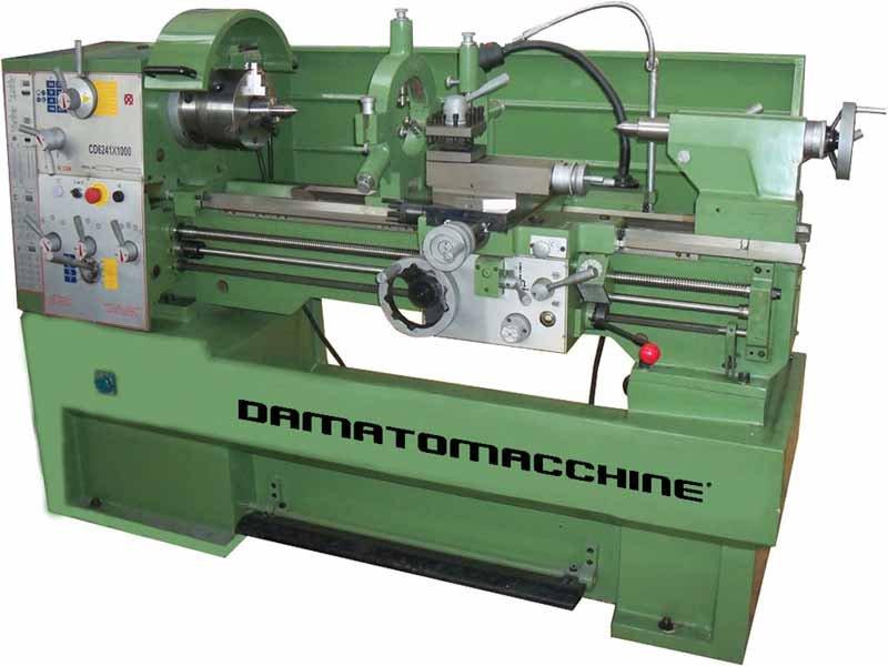 La vecchia meccanica for Tornio damatomacchine