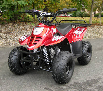 My first 4 wheeler I was 6 when I got this 4 wheeler I