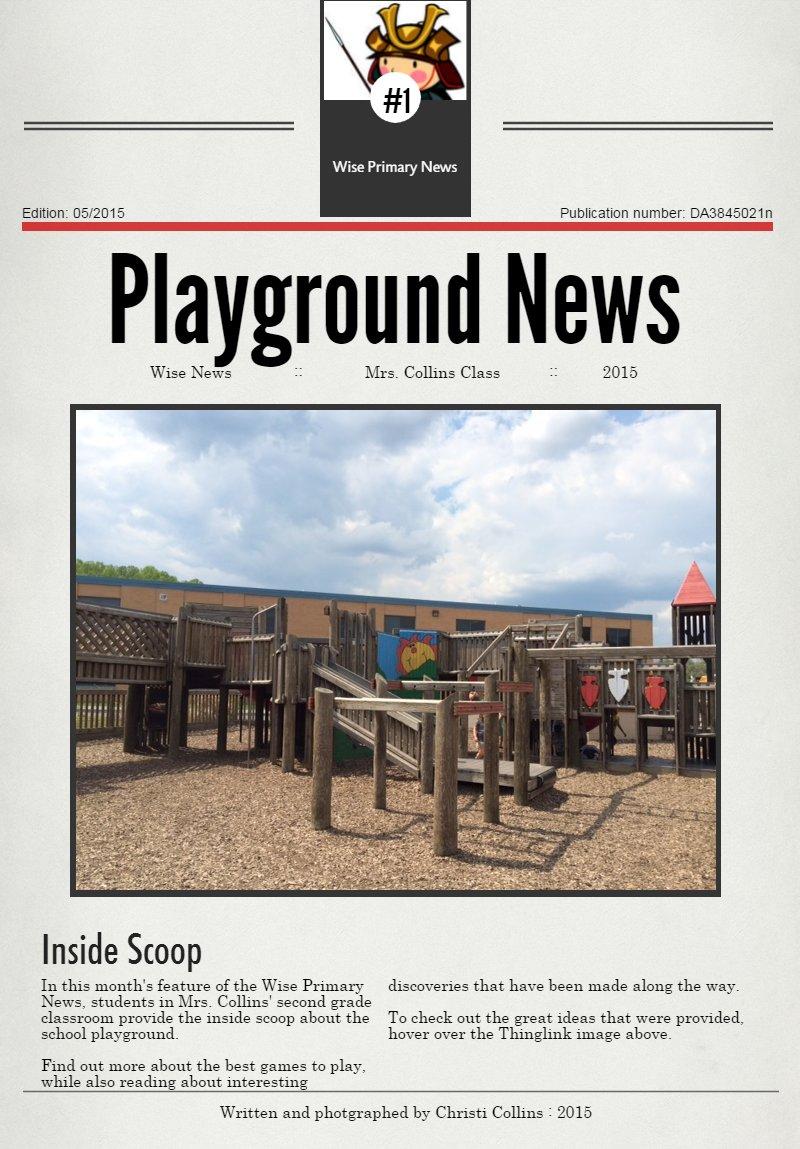 Our School Playground #LivinginUS